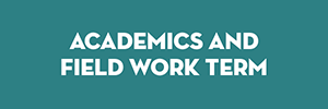 Academics and field work term button