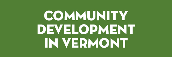 Community Development in Vermont