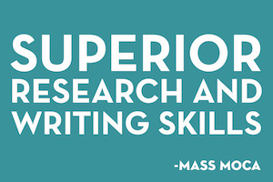 superior research and writing skills
