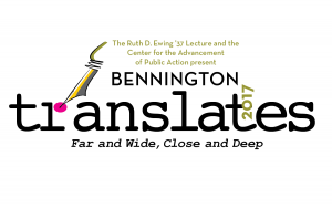Bennington Translates Spring 2017