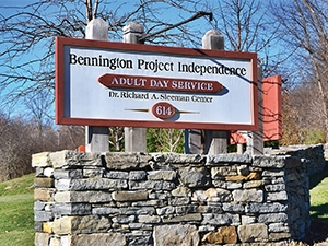 Sign for Bennington Project Independence