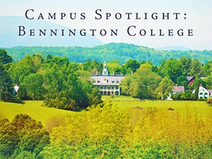 Image of Bennington College campus