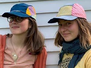 Coastal Caps founders Grace and Ella