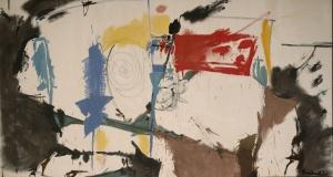 Helen Frankenthaler's Red Square