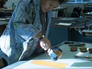 Printmaking at Bennington