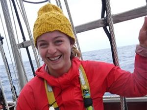 Photo of woman at sea