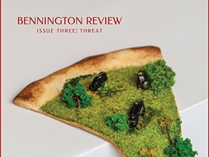 cover of threat bennington review issue three