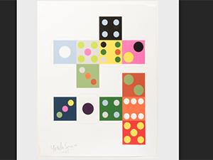 Image of dice painting