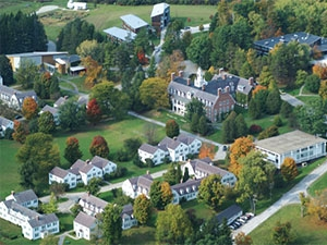 Photo of Bennington College campus