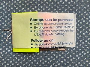 image of stamp envelope