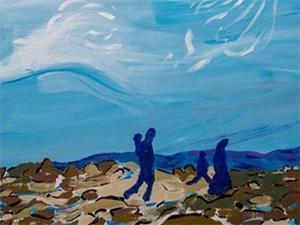 Jaqueline Kramer painting