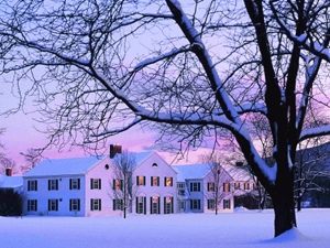 Campus in Winter