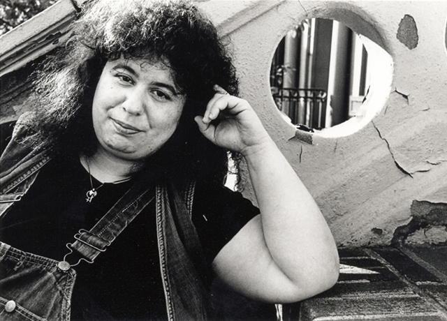Image of Andrea Dworkin; Photo: John Cavanaugh