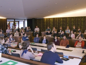 CAPA symposium full of students and faculty