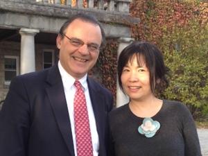 Chistopher Lewis and Yoshiko Sato