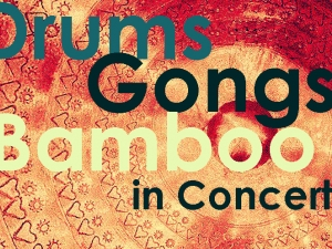 Drums Gongs Bamboo in Concert