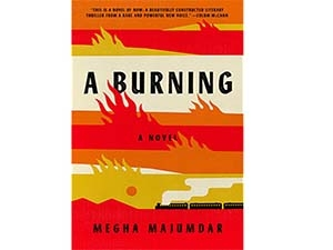 A Burning: A Novel cover