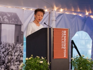 Image of Bennington College 2016 Commencement Speaker Jane Chu