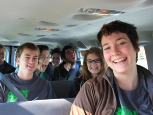 Bennington ACTS Student Volunteers 2012