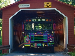 Vermont Arts Exchange Bus