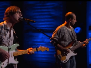 The Real Estate playing in Conan O'Brien show
