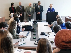 Governor Shumlin Hosts Community Meeting at Bennington College to discuss PFOA