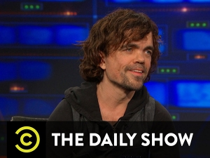 Peter Dinklage at The Daily Show
