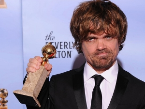 Peter Dinklage at The Golden Globe Awards