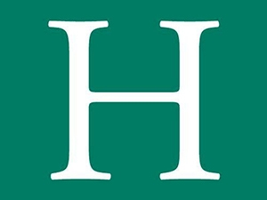huffpost logo green and white