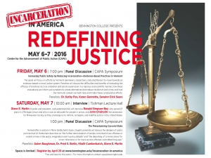 Redefining Justice poster