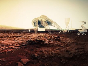 Guvenc Ozel's design for Mars Housing
