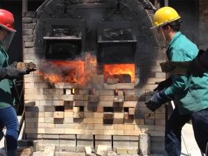 Wood-Fired Kiln