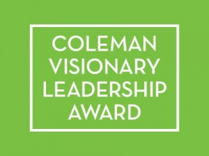 Elizabeth Coleman Visionary Leadership Award Open for Submissions