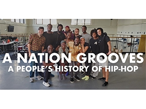 Image of a group with A Nation Grooves written