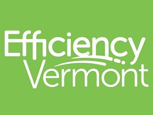 efficiency vt logo in green, white letters