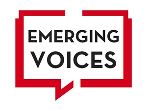 Emerging Voices logo