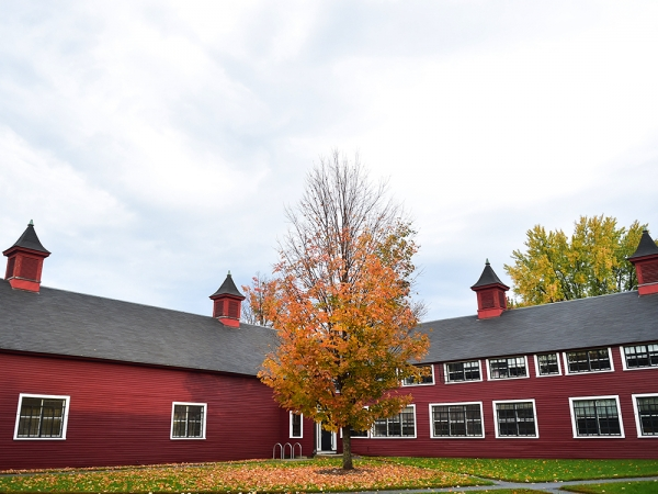 Bennington College Barn building