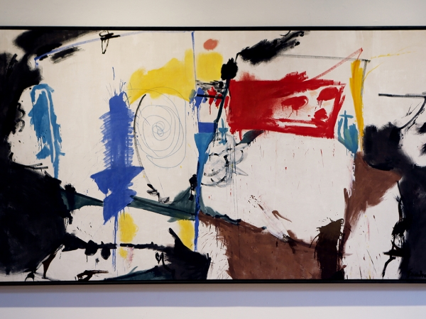 Red Square by Helen Frankenthaler