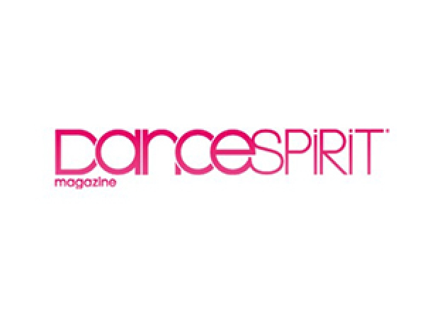 dance spirit magazine logo pink and white