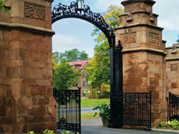 Gates at Mount Holyoke