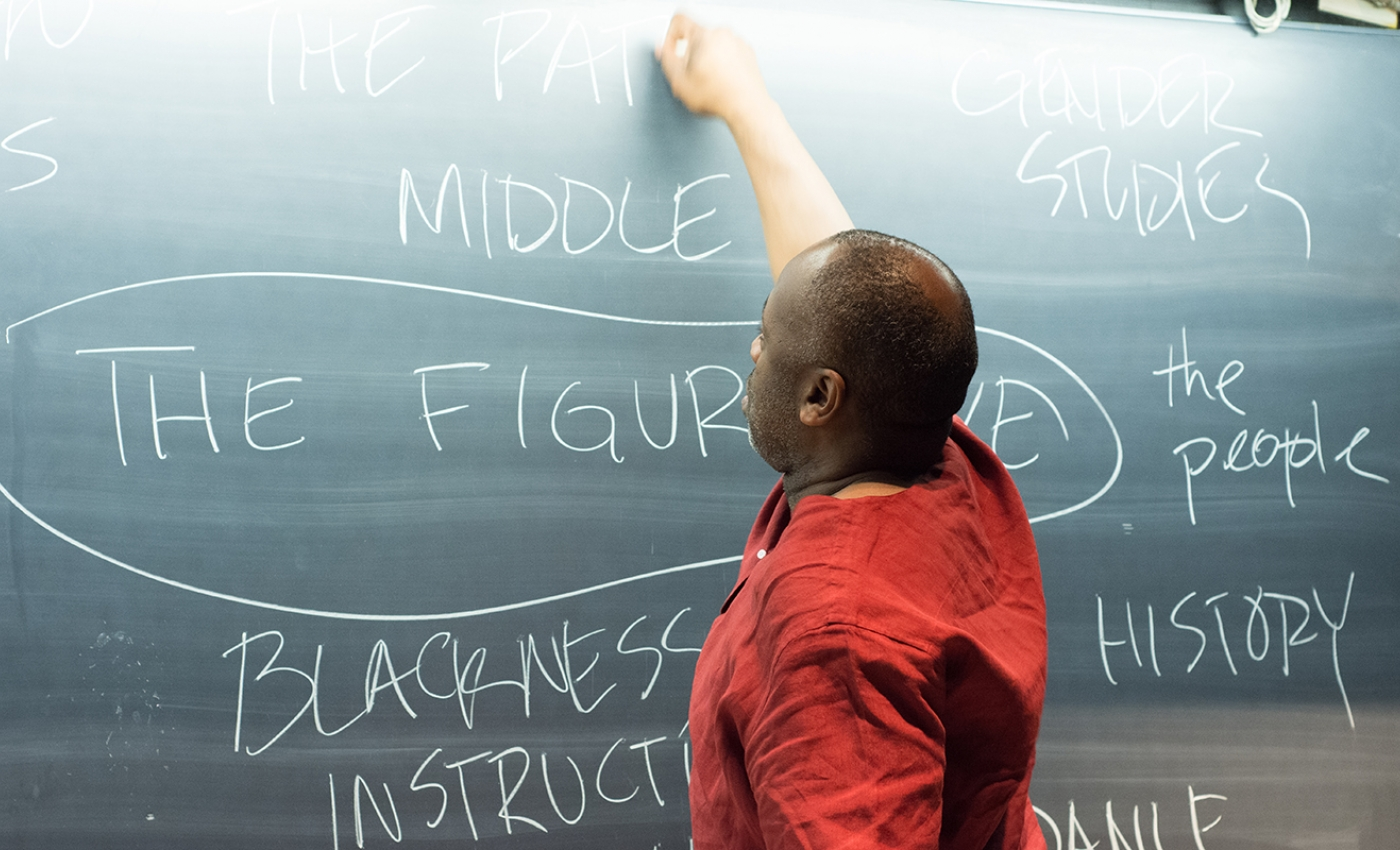 Theaster Gates Blackboard Chart