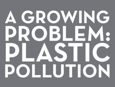 Addressing a Growing Environmental Problem: Plastic Pollution