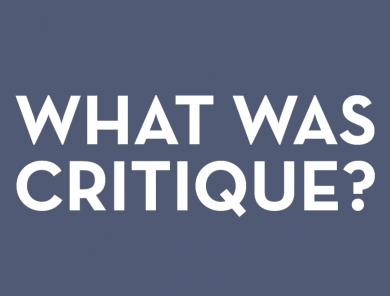 What Was Critique and What Comes Next?