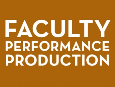 "Faculty Performance Production: Sarah Gancher's ""The Place We Built"""