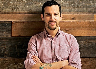 head shot of justin
