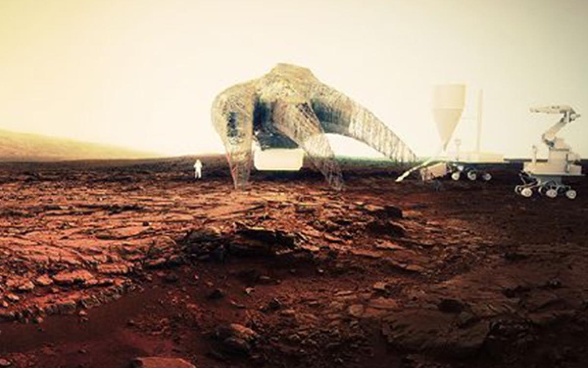 Guvenc Ozel's design for Mars Housing