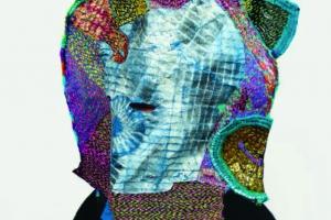 colorful fiber art