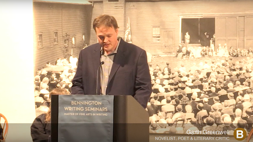 Garth Greenwell Commencement Address