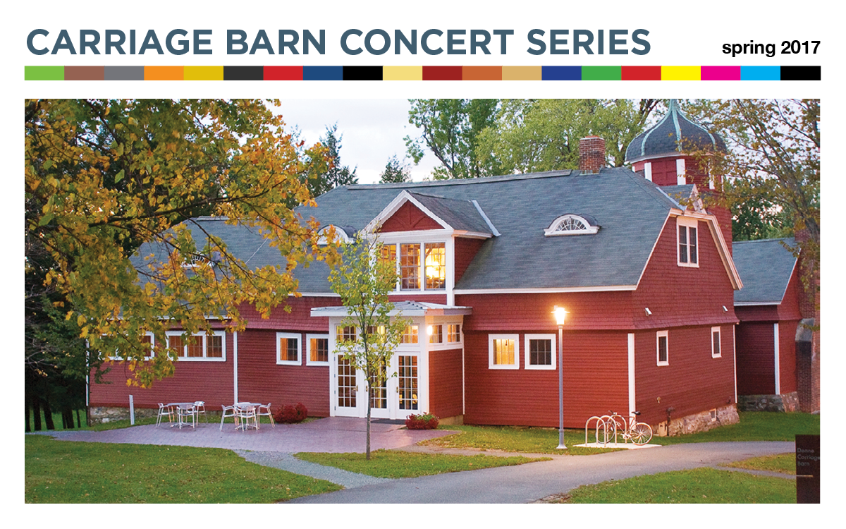 Carriage Barn Series Spring 2017