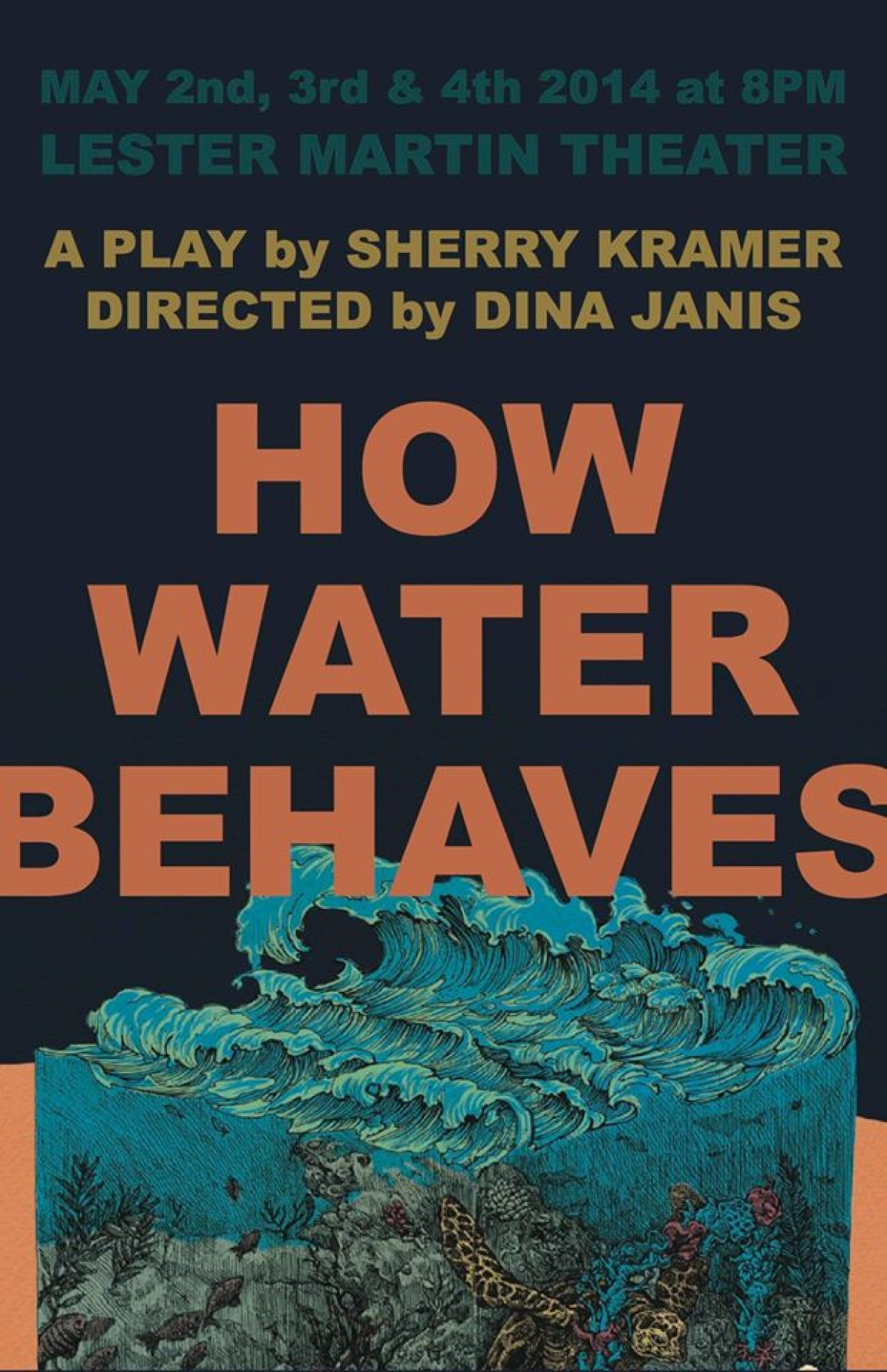 How Water Behaves poster